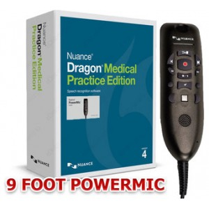 Dragon Medical Practice Edition 4 with PowerMicIII