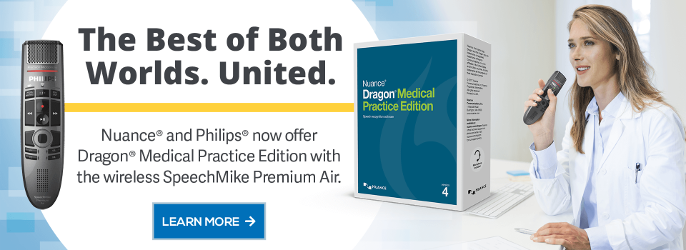 Dragon Medical and Philips SpeechMike Premium Air