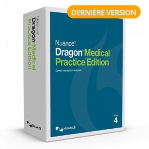 Dragon Medical Practice Edition 4 (français)  mis-à-jour